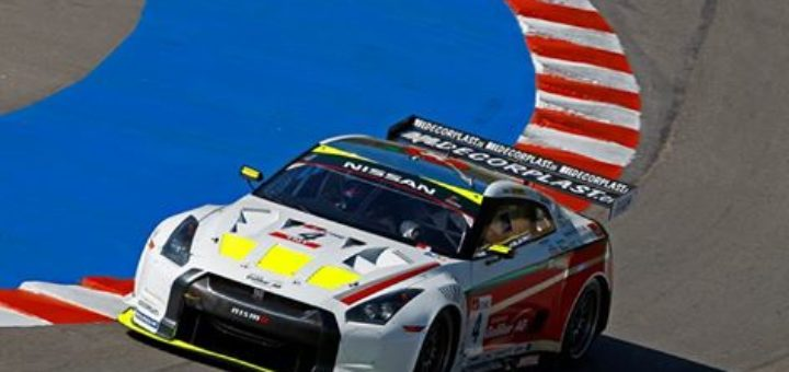 No.4 Nissan GT-R of Seiji Ara and Max Nilsson